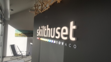 Sans-serif company logotype