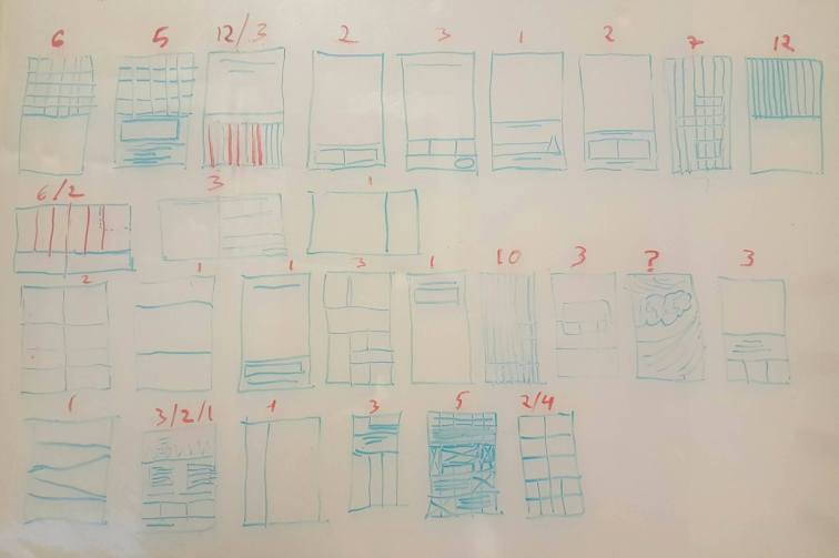1 -Layouts format study fomr 1960's